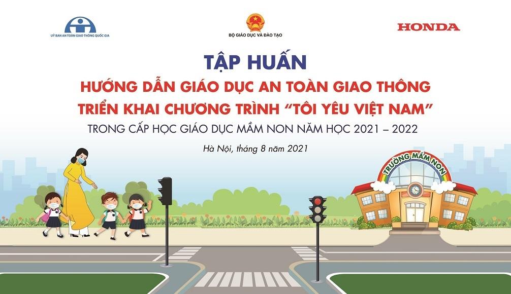 Honda Việt Nam tổ chức tập huấn giáo dục ATGT cấp mầm non