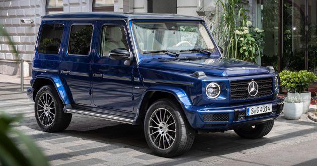 Mercedes-Benz G-Class phiên bản chạy điện sẽ ra mắt vào tháng 9, mạnh 523 PS?
