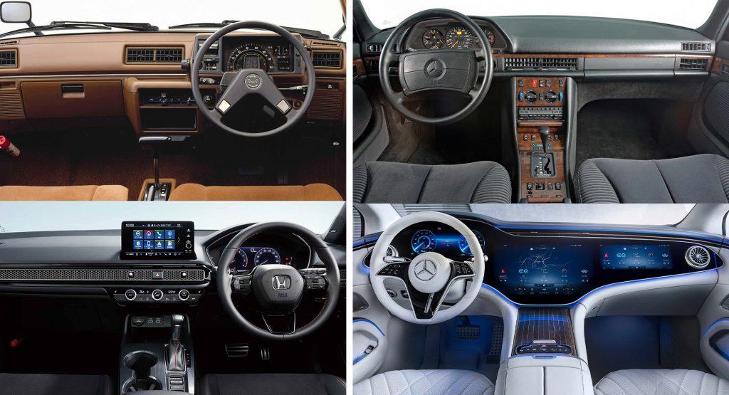 Những mẫu xe mới sở hữu thiết kế nội thất mà người dùng cách đây 40 năm vẫn nhận ra