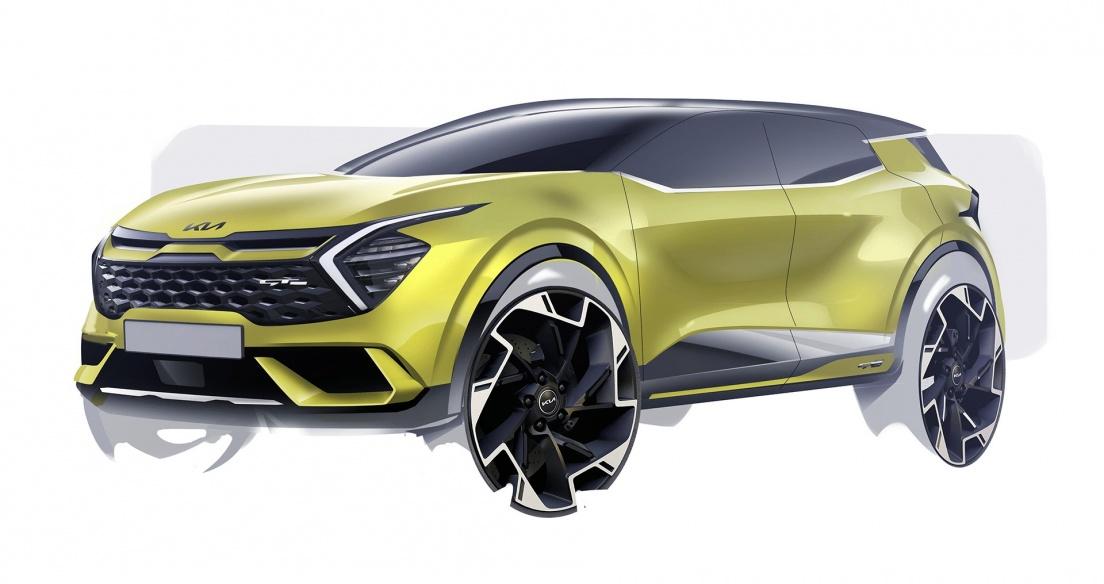 Kia Sportage 2022 phiên bản châu Âu lộ diện, nhỏ hơn phiên bản toàn cầu