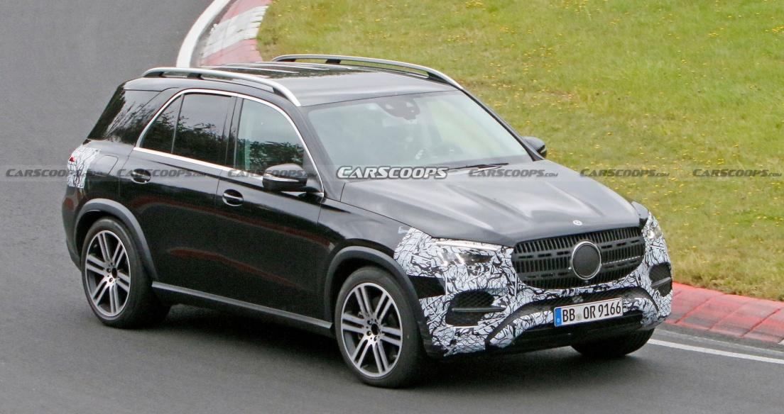 Mercedes GLE 2023 lộ diện trên đường thử