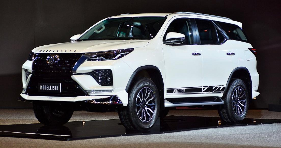 Toyota Fortuner 2021 được trang bị bộ kit Modellista cực chất