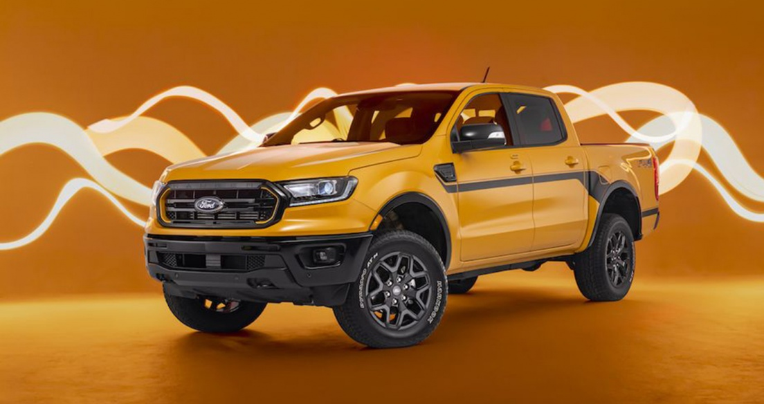Ford Ranger 2022 có thêm gói trang bị đặc biệt từ những năm 90