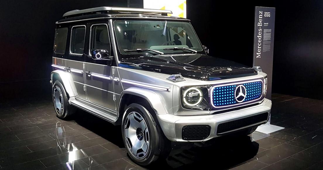 Cận cảnh Concept Mercedes-Benz EQG - G-Class chạy điện trong tương lai