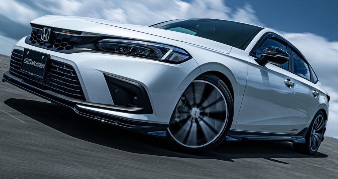 Mugen tung gói phụ kiện thể thao cực chất cho Honda Civic 2022