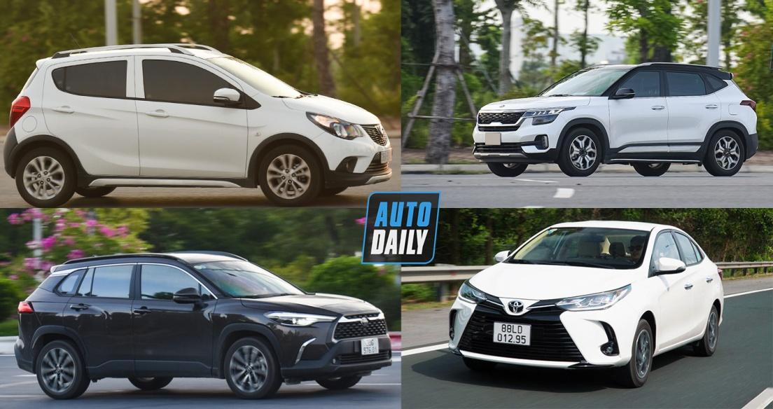 Top 10 xe bán chạy nhất tháng 8/2021: VinFast Fadil bán hơn 2.000 xe, bỏ xa Toyota Vios