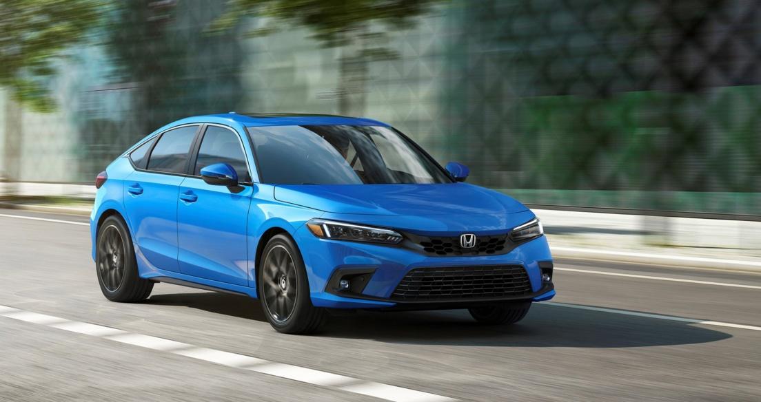 Honda Civic Hatchback 2022 có giá từ 22.900 USD