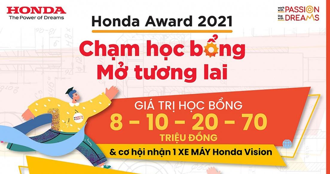Khởi động Học bổng Honda 2021 dành cho sinh viên