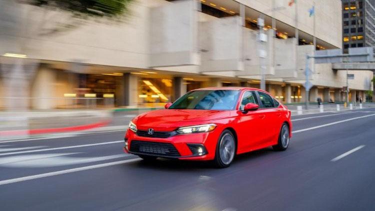 Honda Civic 2022 được đánh giá cao về độ an toàn