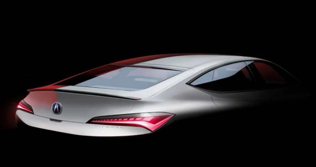 Honda Integra 2023 sắp ra mắt với phong cách fastback 4 cửa độc đáo