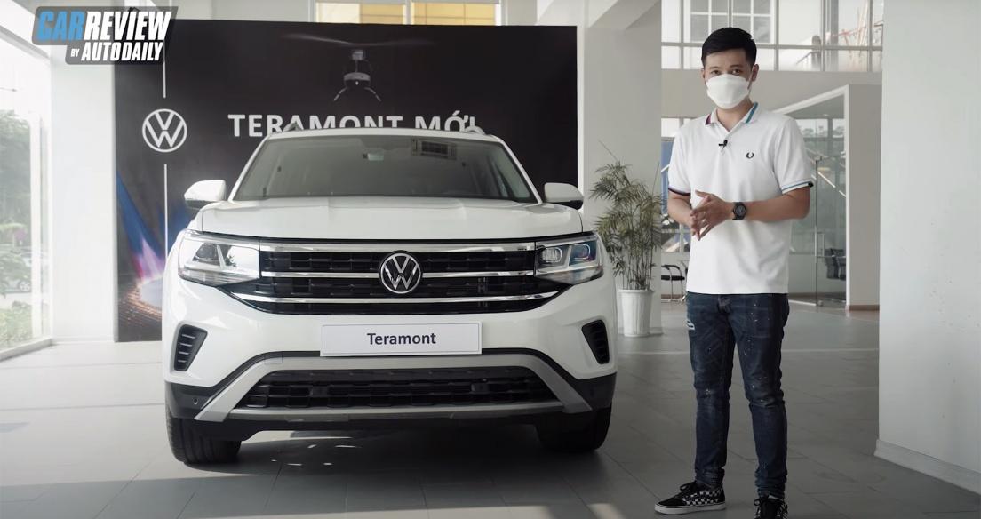 Trải nghiệm chi tiết Volkswagen Teramont 2021 giá 2,349 tỷ - Đối thủ Explorer và Land Cruiser Prado