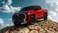 Bán tải Toyota Tundra 2022 ra mắt: Thiết kế táo bạo, động cơ V6 mới