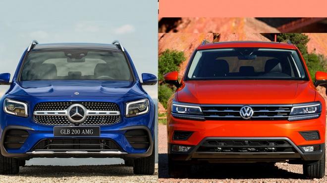 Xe Đức 5+2, chọn Mercedes-Benz GLB 200 hay Volkswagen Tiguan?