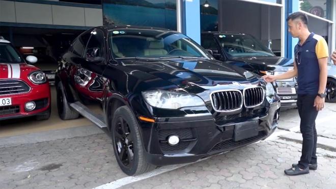 Mua ô tô cũ BMW X6 2008 giá 750 triệu: Có đáng xuống tiền?