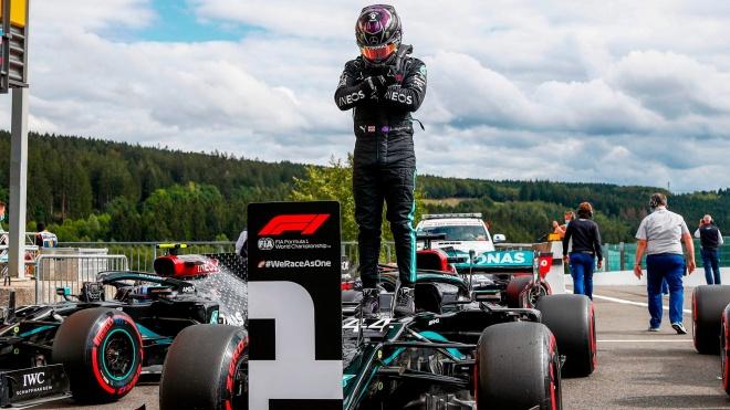 Lewis Hamilton vô địch F1 2020