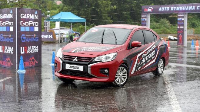 Mitsubishi Attrage 2020 bất ngờ vô địch giải đua xe Redline Auto Gymkhana 2020