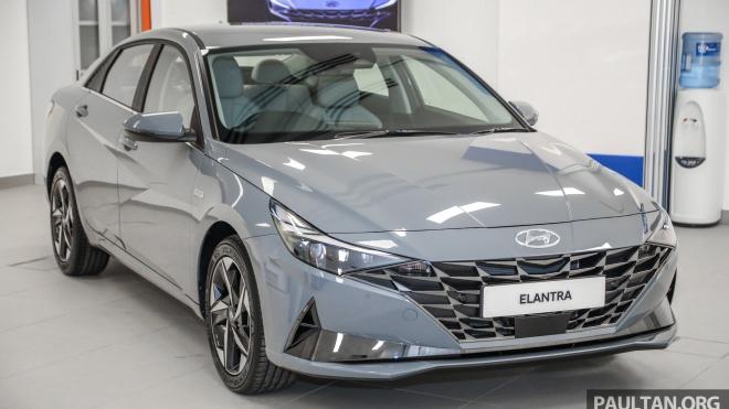 Hyundai Elantra 2021 ra mắt tại Malaysia, giá từ 39.115 USD