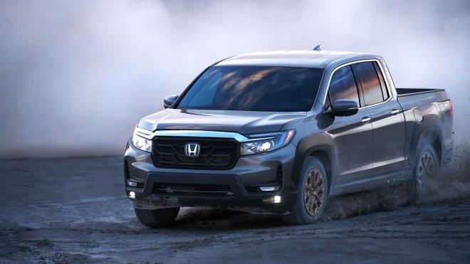 """Soi nhanh bán tải """"hàng độc"""" Honda Ridgeline 2021"""