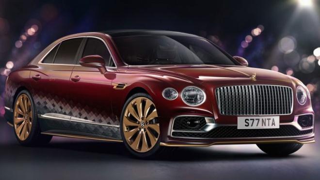 Bentley Flying Spur phiên bản 'xe tuần lộc' dành cho ông già Noel