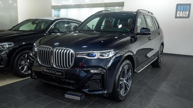 Diện kiến BMW X7 M-Sport 2021 chính hãng giá hơn 5,8 tỷ đồng