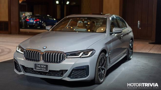 BMW 5 Series 2021 ra mắt tại Thái Lan, giá từ 100.200 USD