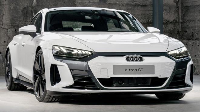 Chi tiết Audi e tron GT - Đối thủ của Porsche Taycan