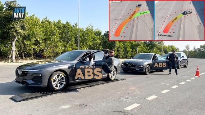 Thử nghiệm hệ thống chống bó cứng phanh ABS trên xe ô tô VinFast - CỨU CÁNH cho tài xế