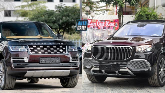 Hơn 17 tỷ Mercedes-Maybach GLS600 hay Range Rover SVAutobiography đẳng cấp hơn?