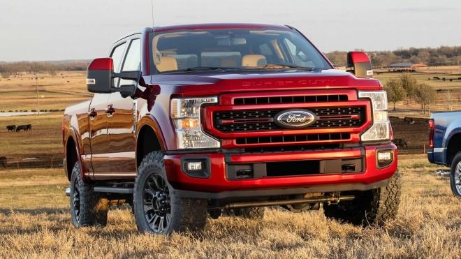 Siêu bán tải Ford Super Duty 2022 ra mắt: Nâng cấp công nghệ và kiểu dáng