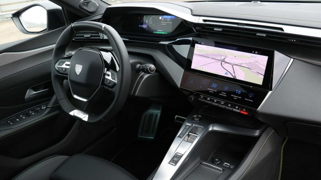 Soi nội thất như xe sang của Peugeot 308 2021