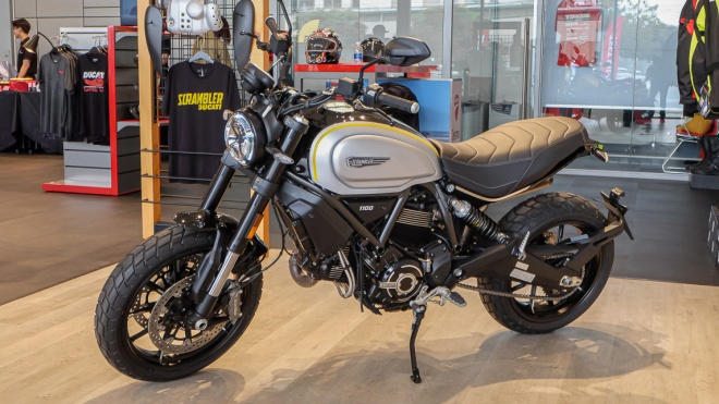 Cận cảnh Ducati Scrambler 1100 Pro 2020 giá hơn 470 triệu đồng
