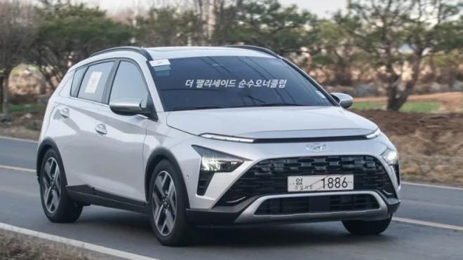 Ảnh thực tế Hyundai Bayon – mẫu SUV đô thị hoàn toàn mới