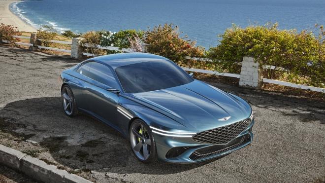 Genesis X Coupe Concept ra mắt: Mẫu xe điện tương lai đẹp hút hồn