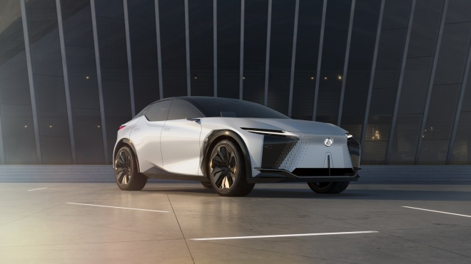 Chiêm ngưỡng mẫu concept xe điện ấn tượng của Lexus