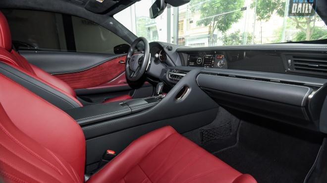 Ảnh chi tiết Lexus LC500h độc nhất Việt Nam giá hơn 8 tỷ