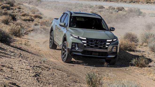 Chi tiết Hyundai Santa Cruz 2022: Mẫu bán tải với phong cách thiết kế độc đáo