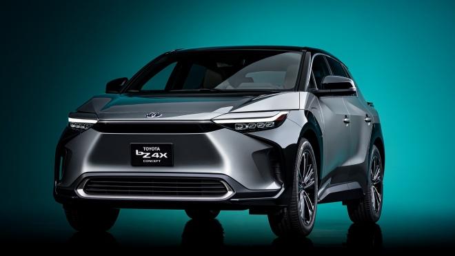 Toyota bZ4X Concept: Bản xem trước của mẫu SUV điện hoàn toàn mới