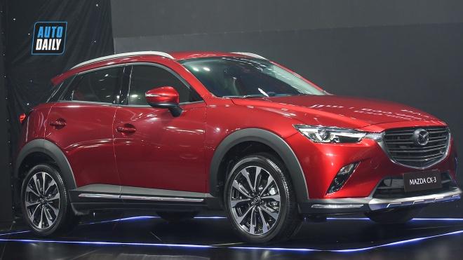 Mazda CX-3 2021 ra mắt tại Việt Nam giá từ 629 triệu