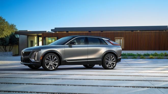 Ảnh chi tiết Cadillac Lyriq 2023 - SUV chạy điện giá dưới 60.000 USD