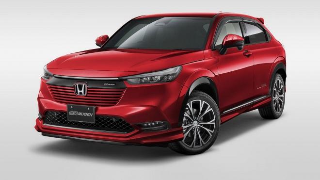 Honda HR-V 2022 cực ngầu trong gói phụ kiện Mugen