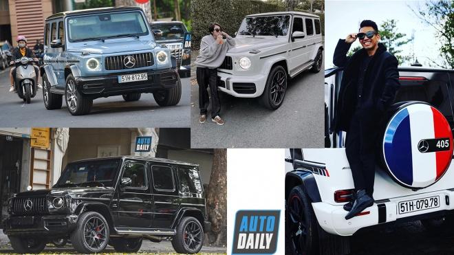 Những nhân vật nổi tiếng mua Mercedes-AMG G63 thế hệ mới tại Việt Nam