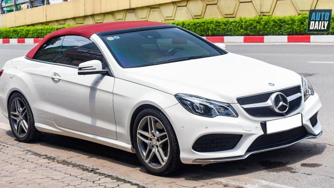 Mui trần hàng hiếm Mercedes-Benz E400 Cabriolet lên sàn xe cũ giá hơn 2 tỷ