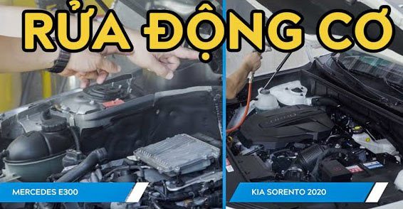 Hướng dẫn rửa động cơ xe Đức, xe Hàn đúng cách - Giữ động cơ như mới và tránh hỏng động cơ