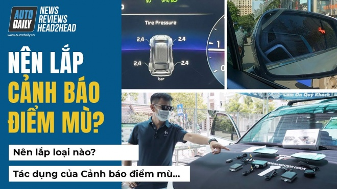 Chia sẻ quá trình lắp Cảnh báo điểm mù BSM cho Kia Sorento - Giá bán kèm trải nghiệm thực tế