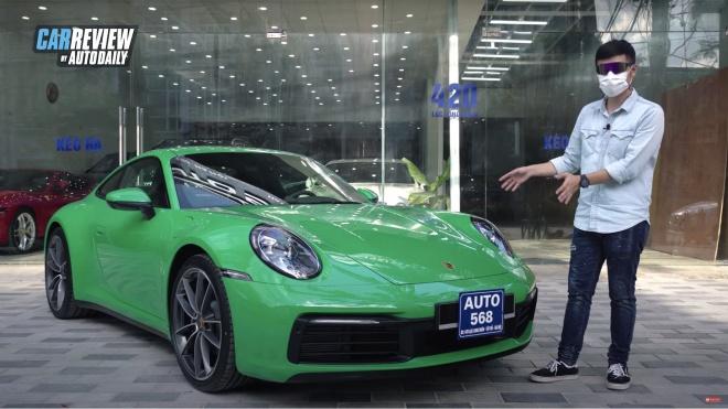 Trải nghiệm chi tiết Porsche 911 Carrera 2021