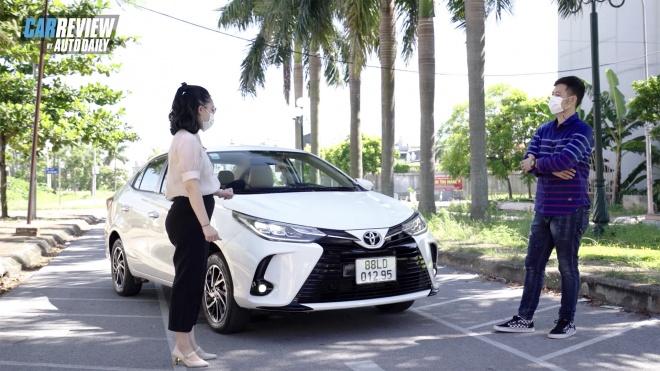 Đang chạy xe hạng A, nữ khách hàng bị hút hồn khi trải nghiệm Toyota Vios