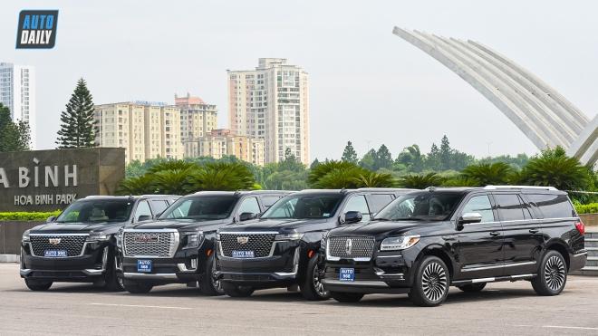Bộ ảnh dàn 'Khủng Long Mỹ' cực chất dành cho đại gia Việt thích SUV cỡ lớn