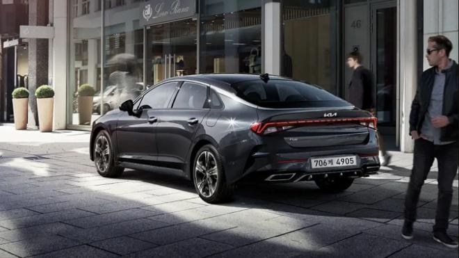 Kia Optima 2022 ra mắt tại Hàn Quốc, thêm nhiều trang bị tiêu chuẩn