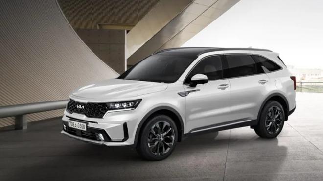 Kia Sorento 2022 ra mắt tại Hàn Quốc, thêm nhiều trang bị tiêu chuẩn hơn