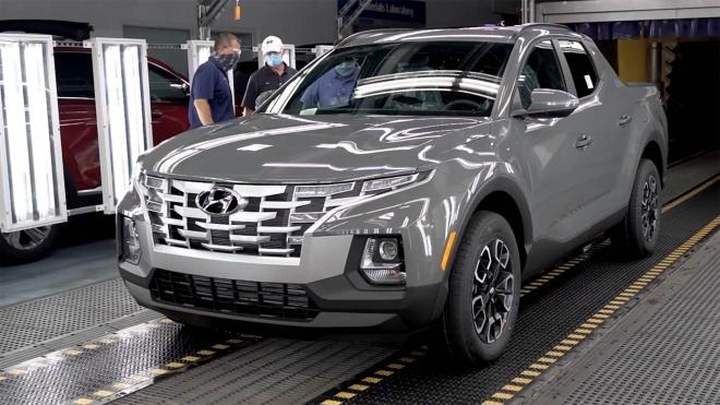 Đột nhập nhà máy Hyundai, khám phá quá trình sản xuất Santa Cruz, bán tải có thể về Việt Nam